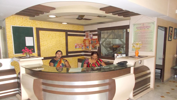 Reception Sanjivani Girls Hostel M.P Nagar Bhopal